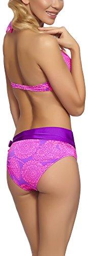 Per 02kf Feba S4n31 Set Push Up Bikini Modello Donna IRxUwRqB8