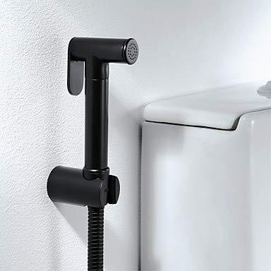 Bidet robinet noir WC portatif bidet pulv/érisateur autonettoyant contemporain