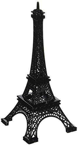 Homeford Eiffel Paris France Metal Tower Display Stand 15 x 6 , Black