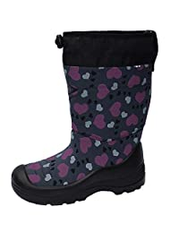 Kuoma Kids Winter Boots - Snowlock   Made in Finland Lightweight and Extra Warm -30C Insulated Snow Shoes