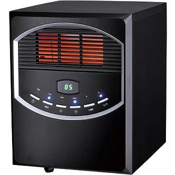 Amazon Com 4 Element Quartz Electric Room Heater With