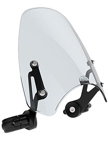 (Dart Classic flyscreen for Harley-Davidson FXCWC Rocker motorcycle windscreen (Light Tint))