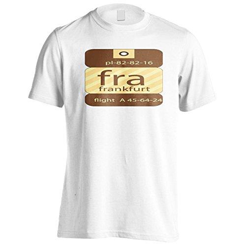 Neue Fra Frankfurt Flug Herren T-Shirt m428m