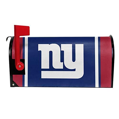 (Gdcover Team Design New York Giants Garden Magnetic Mailbox Cover for Outdoor Decor)