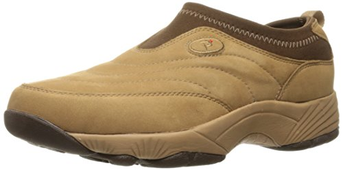 Propet Women's W3851 Wash & Wear Slip-On,Mushroom Nubuck,7.5 M (US Women's 7.5 B)