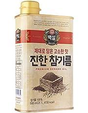 CJ Beksul Sesame Oil, 500ml