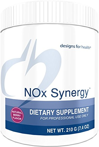 - Designs for Health NOx Synergy - Nitric Oxide Support for Heart Health with Creatine + Taurine, Natural Berry Flavor (210g / 30 Servings)