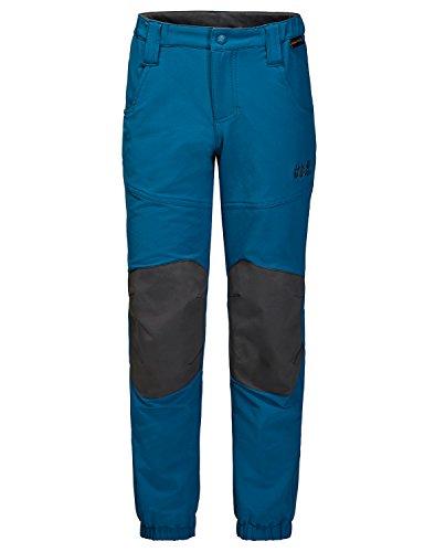 Jack Wolfskin Kinder Rascal Winter Pants Kids Softshell-Hose, Glacier Blue, 104
