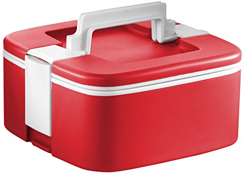 - Ozeri FS3-R Thermomax Stackable Lunch Box and Double-wall Insulated Food Storage Container, Red