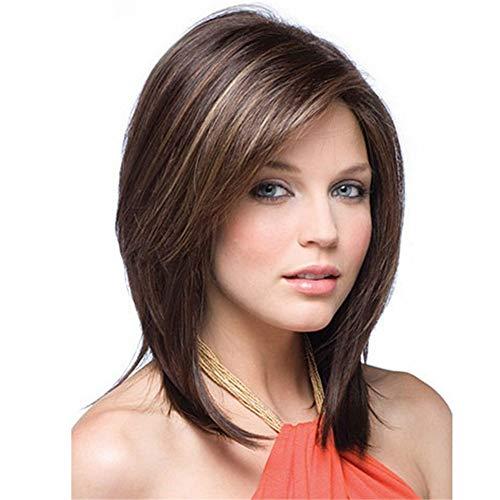 (Women's Wig Short Wavy Premium Heat Friendly Synthetic Hair Wig Halloween)