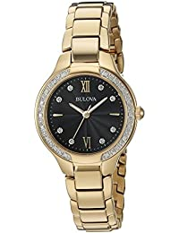 Women's Quartz and Stainless-Steel Casual Watch, Color:Gold-Toned (Model: 98R222)