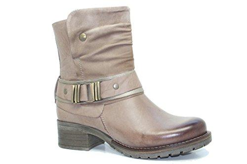 Dromedaris Womens Kikka Boot Taupe S7GpcalX