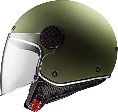 LS2 Unisex Sphere Lux Crisp Motorradhelm