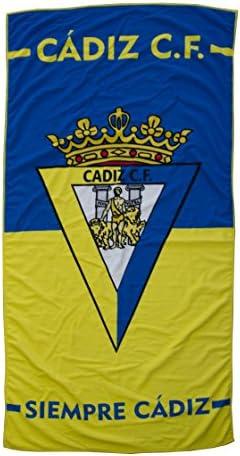 Cádiz CF Toacad Toalla, Amarillo/Azul, Talla Única: Amazon.es: Deportes y aire libre