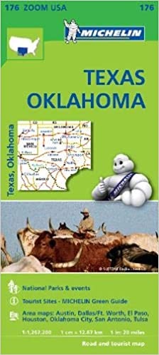 Texas Oklahoma - Zoom Map 176 (Michelin Zoom Maps): Michelin ... on map of levelland, map of north dfw, map of giddings, map of del city, map of panola college, map of marinette, map of phoenix mesa, map of telegraph, map of big bend np, map of alliance airport, map of spanish fort, map of fruita, map of ranger college, map of la marque, map of mcculloch county, map of dallas, map of snyder, map of lake bridgeport, map of west columbia, map of liberal,