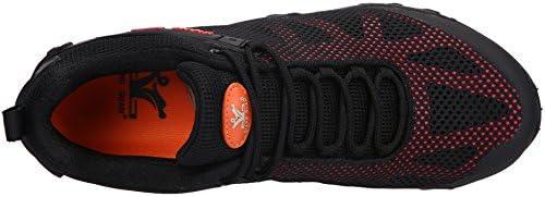 XIANG GUAN トレッキングシューズ メンズ 登山靴 大きいサイズ 通気性 耐磨耗 衝撃吸収 軽量 アウトドア ハイキング