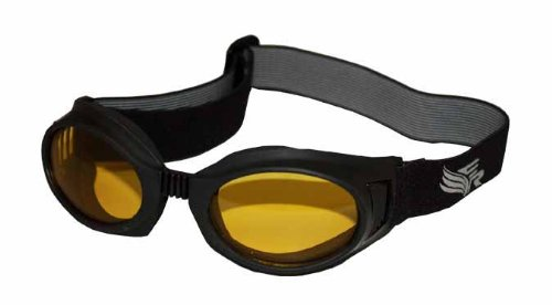 Eye Ride Max 360 Glasses (Black/Yellow) ()