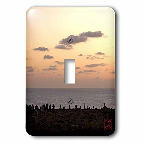 3dRose LLC lsp_107481_1 People Enjoying Sunset At Es Cap De Barbaria Formentera Spain Single Toggle Switch by 3dRose
