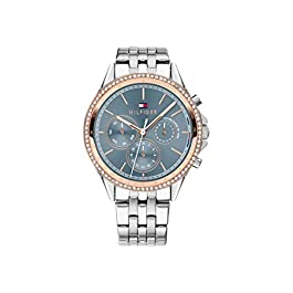 Tommy Hilfiger Womens Multi dial Quartz Watch with Stainless Steel Strap 1781976