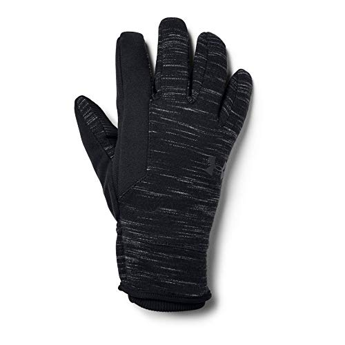 Under Armour Men's CGI Storm Glove, Black (001)/Black, X-Large (Armour Mitt Fleece Under)