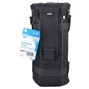 JJC DLP-7 Deluxe Lens Pouch Bag Case for Sigma 150-500mm, 150-600mm Tele Lens (Black)