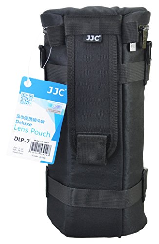 JJC DLP-7 Deluxe Lens Pouch Bag Case for Sigma 150-500mm, 150-600mm Tele Lens