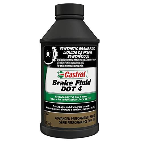 Synthetic Brake Fluid - Castrol 12509-12PK DOT-4 Brake Fluid - 12 oz., (Pack of 12)