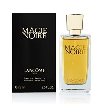 PERFUME PARA MUJER MUJERES WOMAN LANCOME MAGIE NOIRE POUR FEMME 75 ML EDT 2,5 OZ 75ML EAU DE TOILETTE SPRAY 100% ORIGINAL: Amazon.es: Electrónica