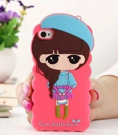 Loxxo Cute Cartoon Girl Lovely Case For Apple Amazon In Electronics