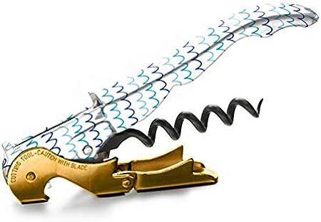 Sacacorchos - Pulltap's Genuine - Slider 900 - Colección Marítima - Ones - Sacacorchos profesional- doble palanca - camarero - sommelier - original - fabricado en España, Marina