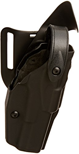 Safariland 6360 ALS/SLS Level-III Retention, Mid-Ride Duty Holster, Glock 20, 21, STX Tactical Black, Right ()
