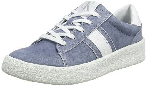 Calvin 000 Multicolore Basses Femme dnw Gaia Sneakers smooth Suede Jeans Klein frOqfZ
