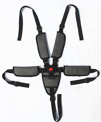 Slibrat Baby 5 Point Harness Safe Belt Seat Belts for Stroller High Chair