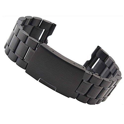 66 opinioni per fenrad® Nero Acciaio Inox 22mm Cinturino Braccialetto per Motorola moto 360