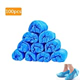 Disposable Shoe & Boot Covers Plastic Waterproof Non-Slip Shoe Protector Cover for Home Hospital Production Workshop Conference Room Laboratory Computer Room