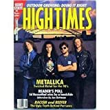 High Times Magazine May 1990 Metallica Twisted Metal for the 90's, Reader's Poll Ed Rosenthal Wins, Outdoor Growing and More