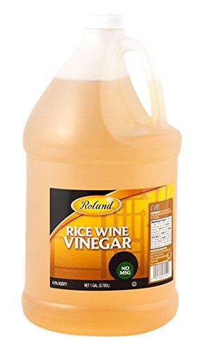 Roland Rice Wine Vinegar, 128 Ounce