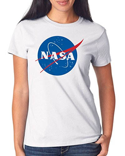 NASA T-Shirt Girls White Certified Freak