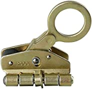 Yaegoo Rope Grab Ascender Fall Protection 25KN Riser Fits 1/2 Inch-5/8 Inch for Heavy Duty Outdoor Rock Rockin