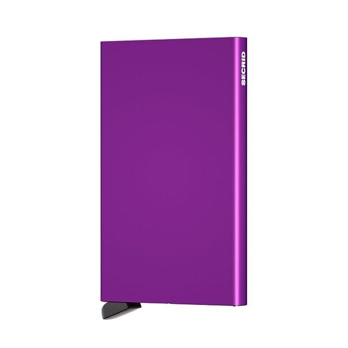 Secrid Porte-cartes Cardprotector 4 - 6 cartes Violet 1x9gU4rT