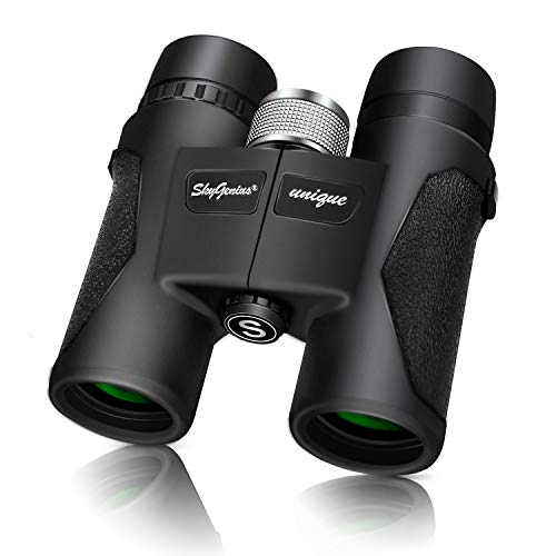 Cheap SkyGenius 8X32 Compact Lightweight Quality Binoculars for Bird Watching with Clear Wide Vision, Easy to Focus. Great for Adults Kids Hunting Wildlife Watching Sporting Events Travel Concerts(1.05lb)