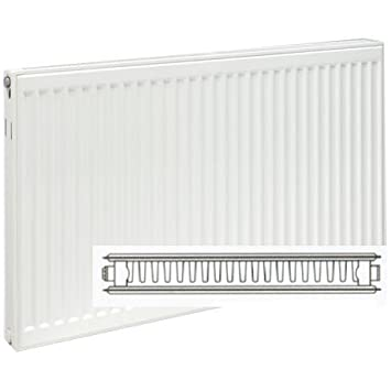 Ultraheat Single Plus Convector - 5973 BTUs - Size 600mm high x 1200mm wide by Compact