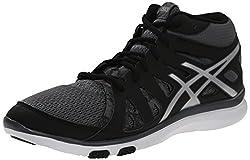 ASICS Women's Gel Fit Tempo 2 MT Fitness Shoe, Onyx/Silver/Carbon, 11 M US