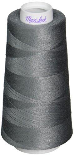 American & Efird Maxi-Lock Cone Thread 3,000yd, Steel -