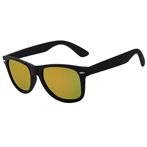 Homesuns Fashion Sunglasses Men Polarized Sunglasses Men Driving Coating Points Black Frame Eyewear Male Sun Glasses ,C02Gold mirror,China
