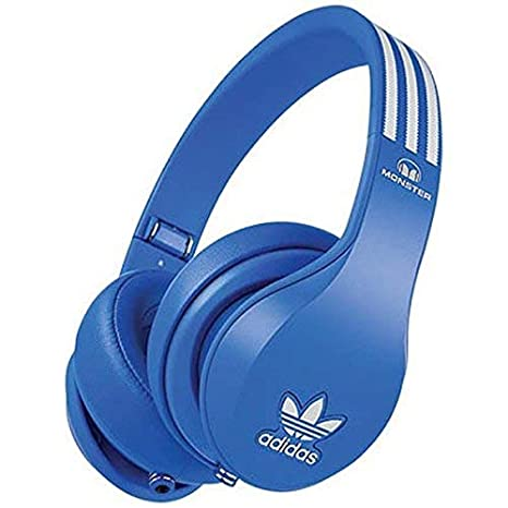 on sale d37ef 8af5d Monster Cuffie Over-Ear Adidas Originals, Blu
