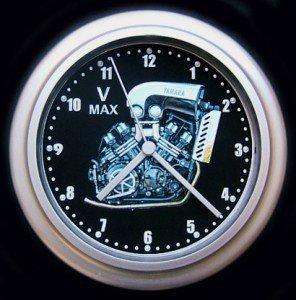 Yamaha V-MAX para moto motor reloj de pared