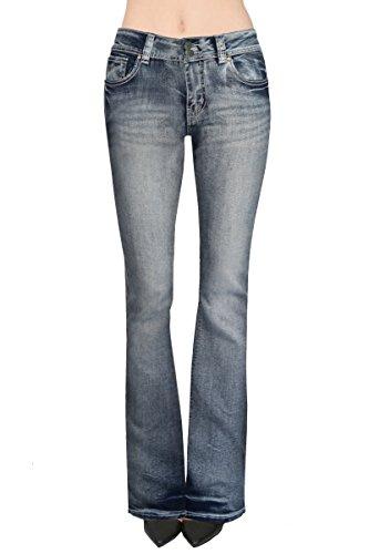 Twill Bootcut Pants - 8