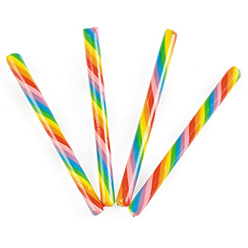 Rainbow Candy Sticks - 80 Sticks