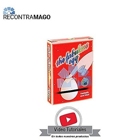 RecontraMago Magia - Juegos de Magia con Cartas - El Fabuloso Huevo - Hecho con Cartas Bicycle Originales - Incluye VideoTutorial por Magos ...